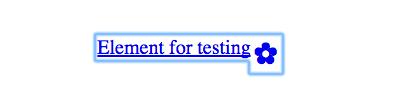 test-element